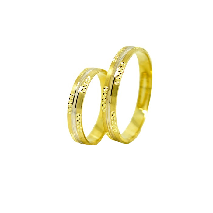 Sárga arany Karikagyűrű K5