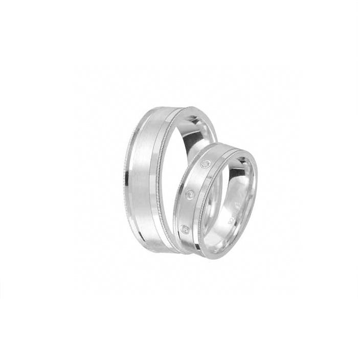 Ezüst karikagyűrű E01