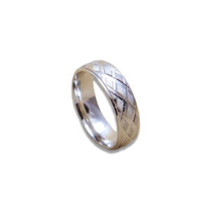 Ezüst karikagyűrű E05