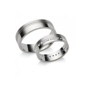 Fehérarany kreatív gyűrű N5
