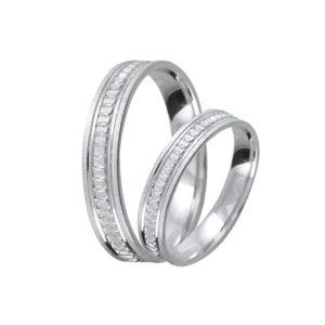 Ezüst eljegyzési gyűrű E07