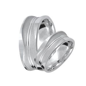 Ezüst eljegyzési gyűrű E04