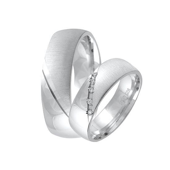 Ezüst Karikagyűrű (E06)