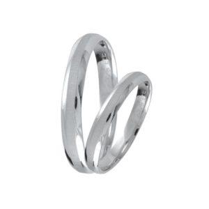 Ezüst eljegyzési gyűrű E12