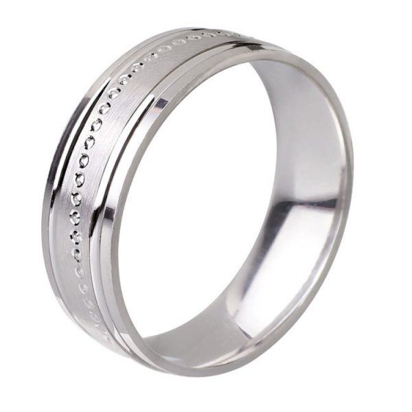 Ezüst eljegyzési gyűrű E23