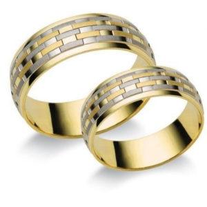 Széles arany karikagyűrű (T3)