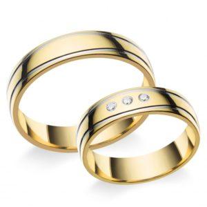 Arany köves karikagyűrű A10