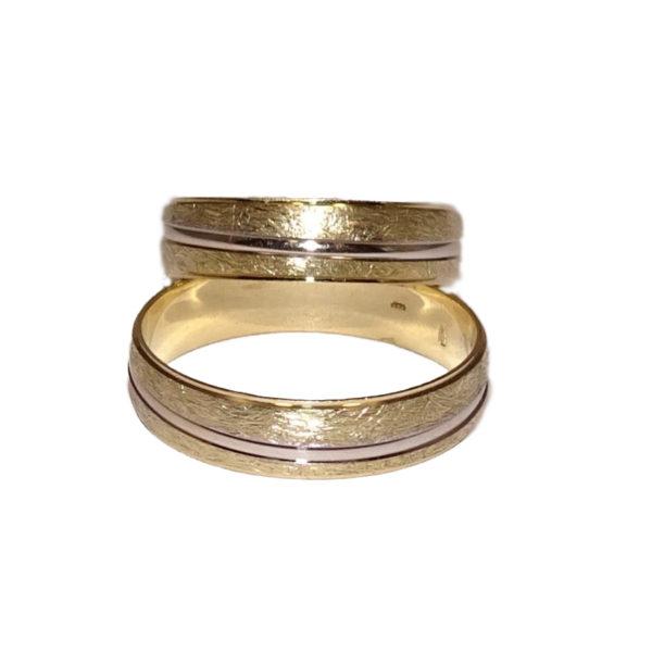 Arany karikagyűrű k3 - karikagyűrű pár