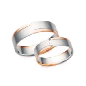 Arany karikagyűrű pár Z2
