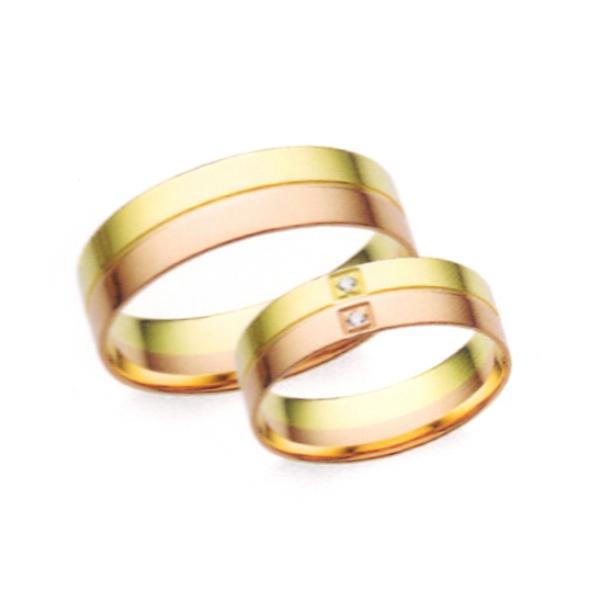 Arany karikagyűrű pár Z3