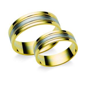 Arany karikagyűrű pár N1