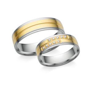 Arany karikagyűrű pár Z4